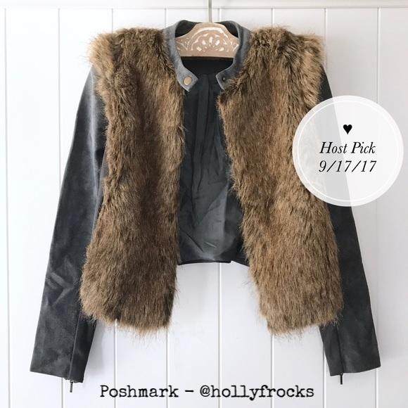 Twelfth Street Faux Fur Jacket