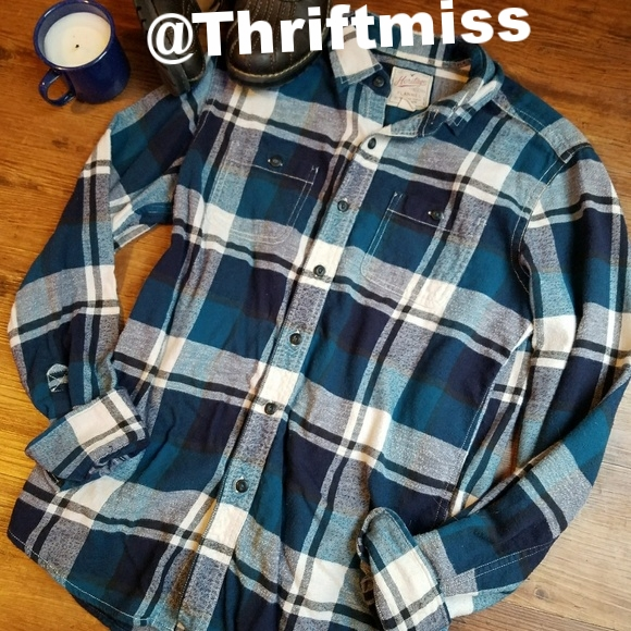 AEO Classic Flannel Shirt