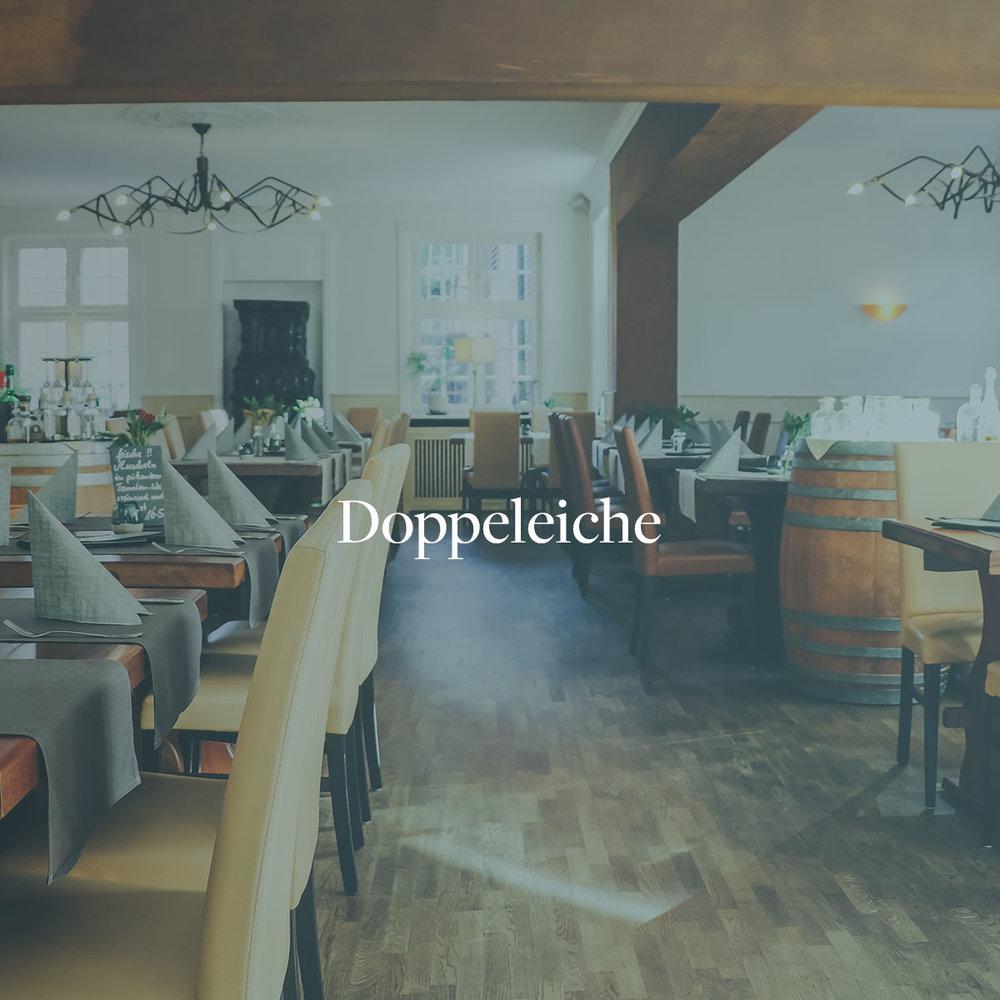 Webseitenerstellung, Beratung Online Marketing, Fotos & SEO für das Restaurant Doppeleiche