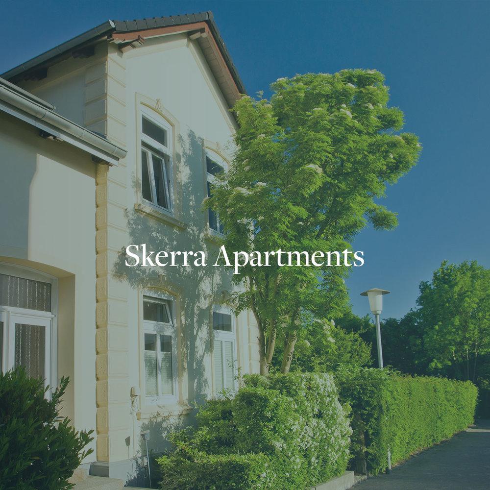 """Webseitenerstellung, Beratung Online Marketing & SEO für die Ferienwohnungen """"Skerra Apartments"""""""