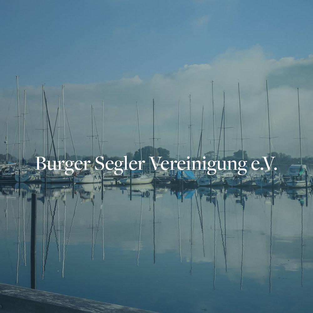 Webseitenerstellung & SEO für die Burger Segler Vereinigung e.V auf Fehmarn