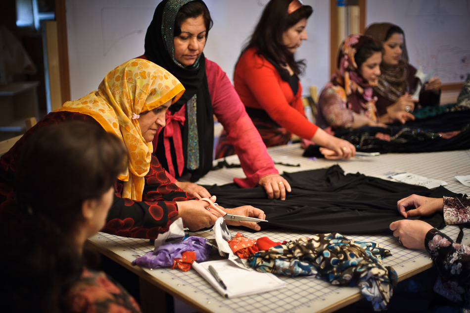 SEWING AMIDST THE CLASH OF CIVILIZATIONS