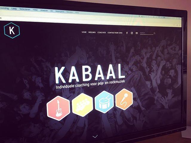 We zijn online! www.kabaal.be