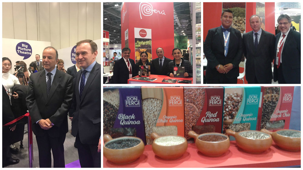 International Food and Drink Event- London
