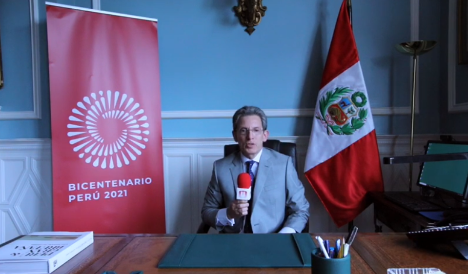 The Embassy of Peru in the United KIngdom