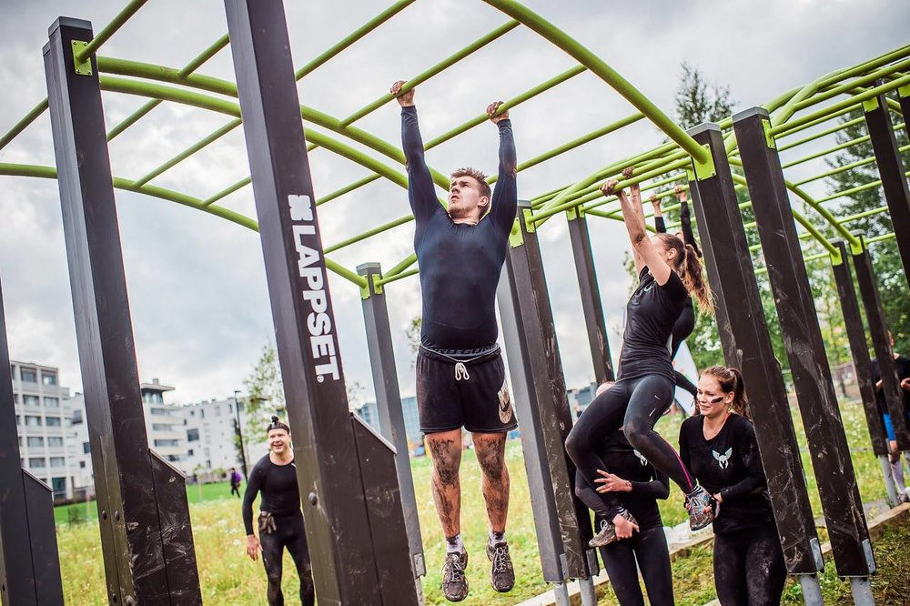 LAPPSETT SPORT - Lappset Sport fitness structures are the ultimate proving ground. A great resource for building foundational strength, cross training, isolated muscle group and cardio workouts.