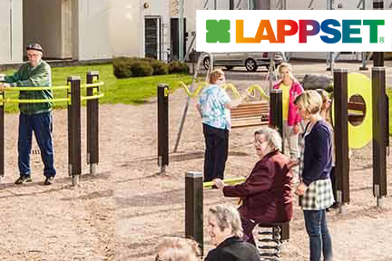 FEATURING LAPPSET - Lappset Fitness products are designed to meet the needs of both cross-fit enthusiasts as well as casual users, therefore all fitness products are equipped with QR codes that links to instructive work out videos.VIEW MORE @ WWW.LAPPSETT.COM