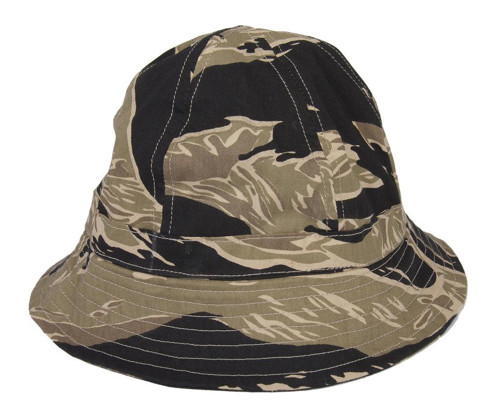 GOLDEN TIGER CAMOUFLAGE NAVY SEAL BOONIE CAP VIETNAM ERA ELITE FORCES 27ca0621461