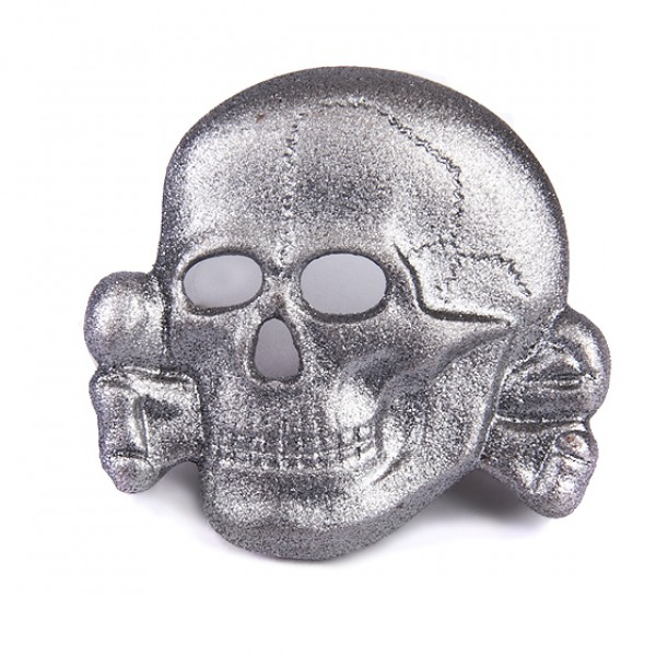 d2241a66eb1 WWII GERMAN WAFFEN-SS METAL CAP EAGLE AND SKULL SET — SM Wholesale