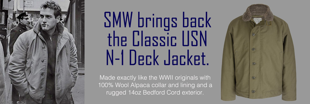 U.S. Navy N-1 Deck Jacket.