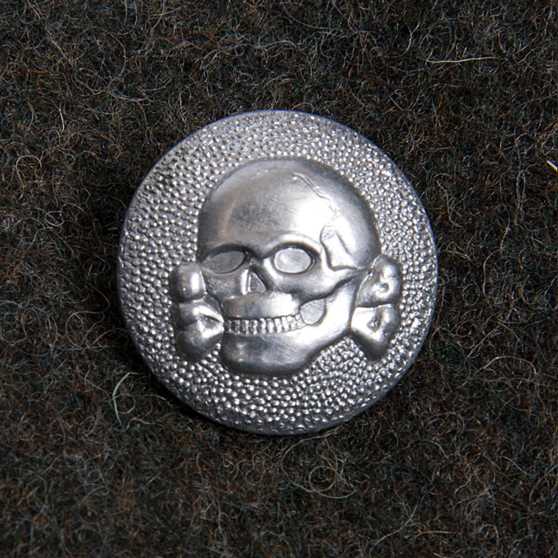 Sm wholesale usa rare german waffen ss totenkopf insignia metal buttons