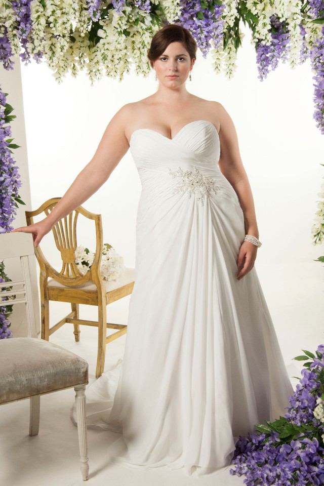 Highlights from our Curvy Bridal Collection - Please click here