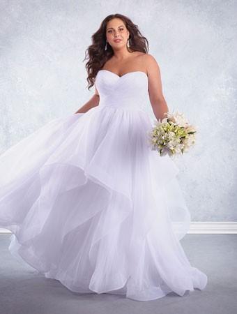 Plus Size Wedding Dresses Go High Fashion In Calgary