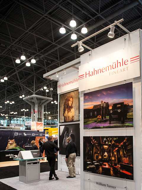 Hahnemuhle Fine Art paper exhibits Rush Hour, Grand Central Station at Photo Expo Plus, NYC