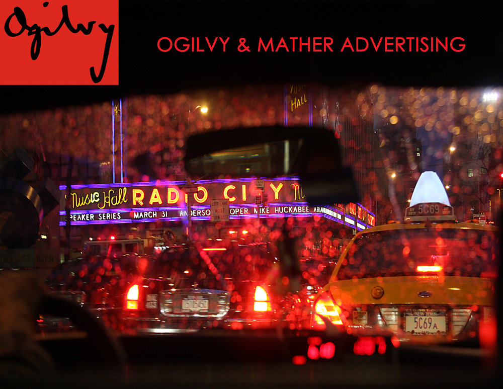 Ogilvy & Mather advertising licenses Cab Ride in the Rain