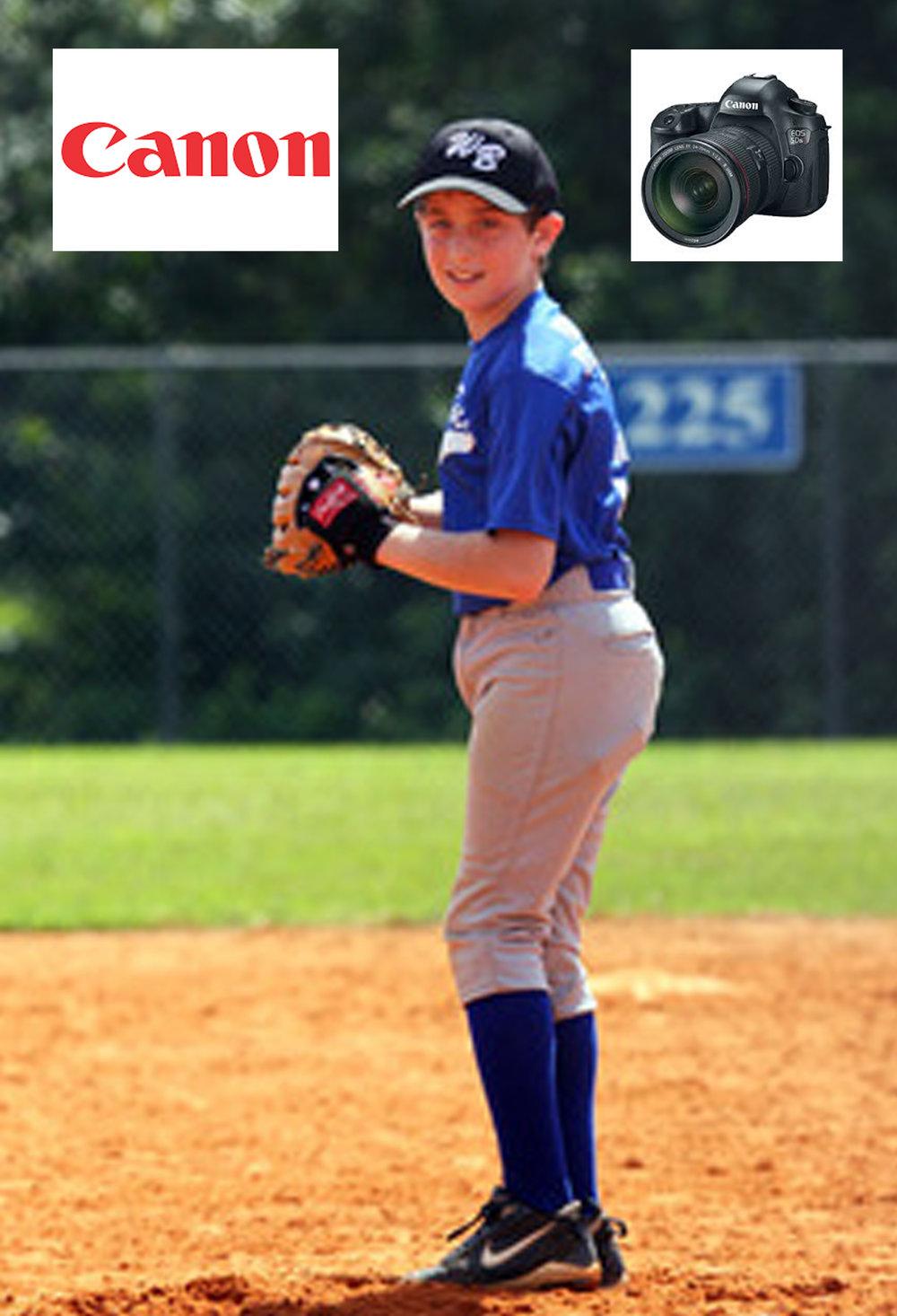 Canon Camera USA licenses Little League Pitcher