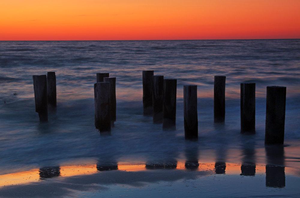 42 Naples Pelican Pier Sunset No Birds_9912.jpg