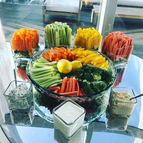 #shinmicatering #koreancaterer #koreanfoodbuffet #vegetablesanddips #신미케더링#weddingcaterer #privateeventcaterer