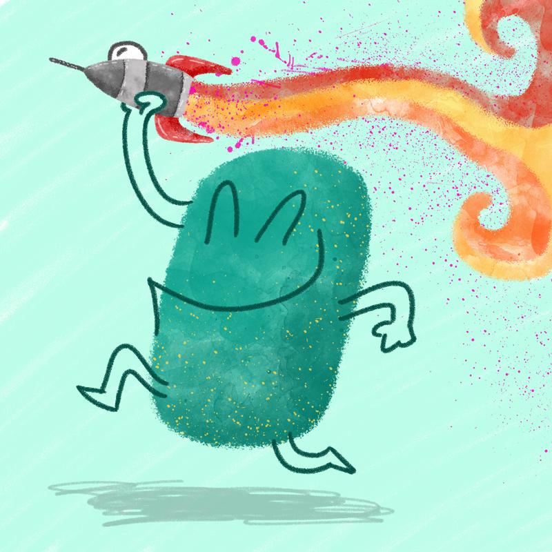 Rocket Man by Jason Heglund