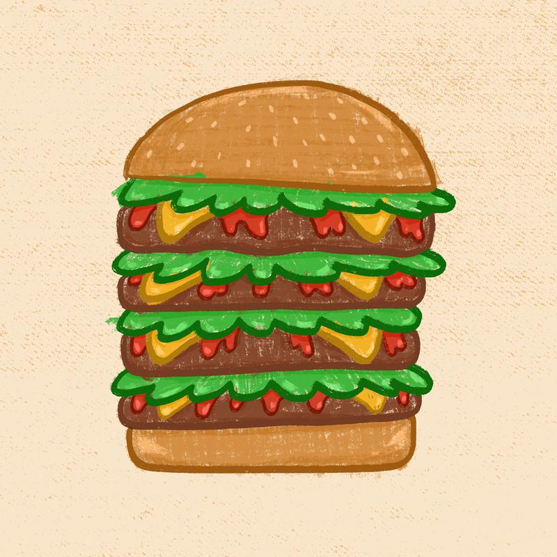 Burgerstack by Jason Heglund
