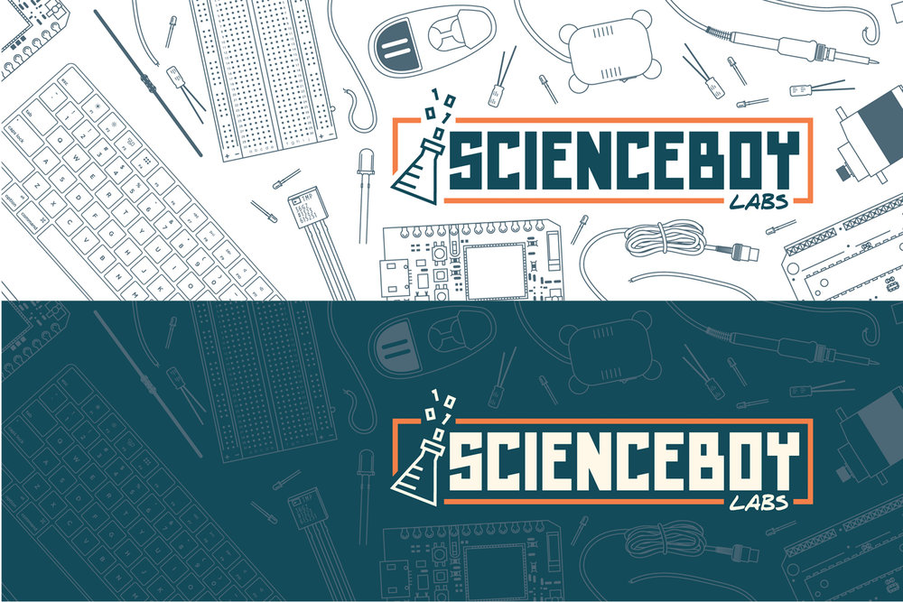ScienceBoy Labs Social Media Headers