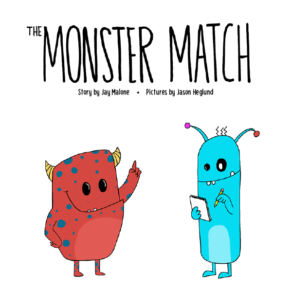 The Monster Match Children's Book