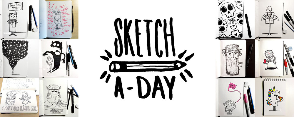 Sketch-a-Day 2014 Header