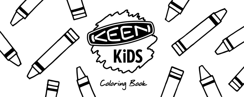 KEEN Kids Coloring Book
