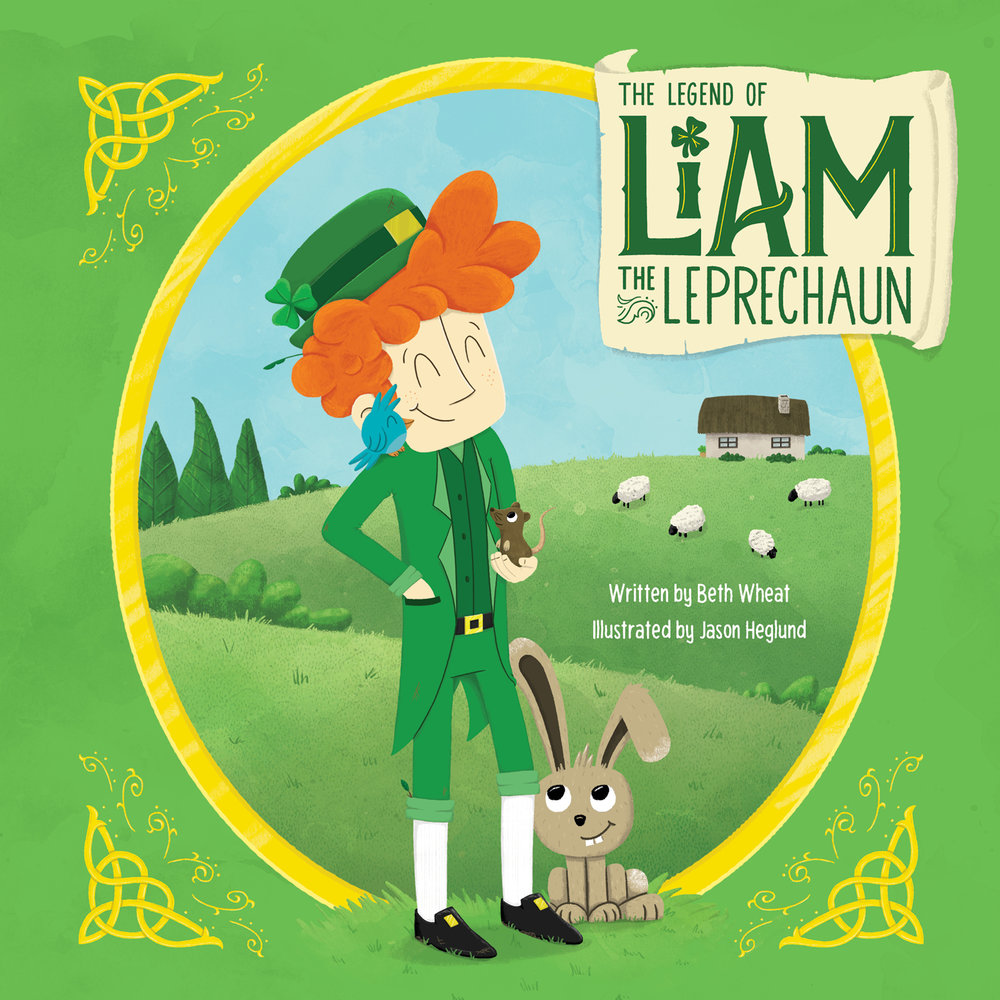 Liam the Leprechaun Children's Book