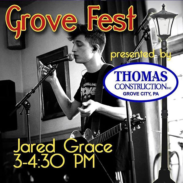 Come see me and the band play downtown Grove City on Saturday, Oct 7th!