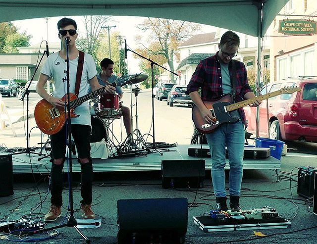 Great show this weekend at Grovefest! Thanks for coming out!