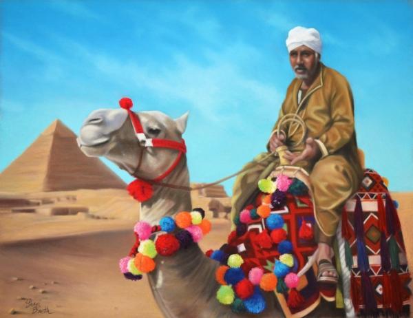 Camel Rides - Giza, Egypt