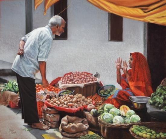 Produce Market - India