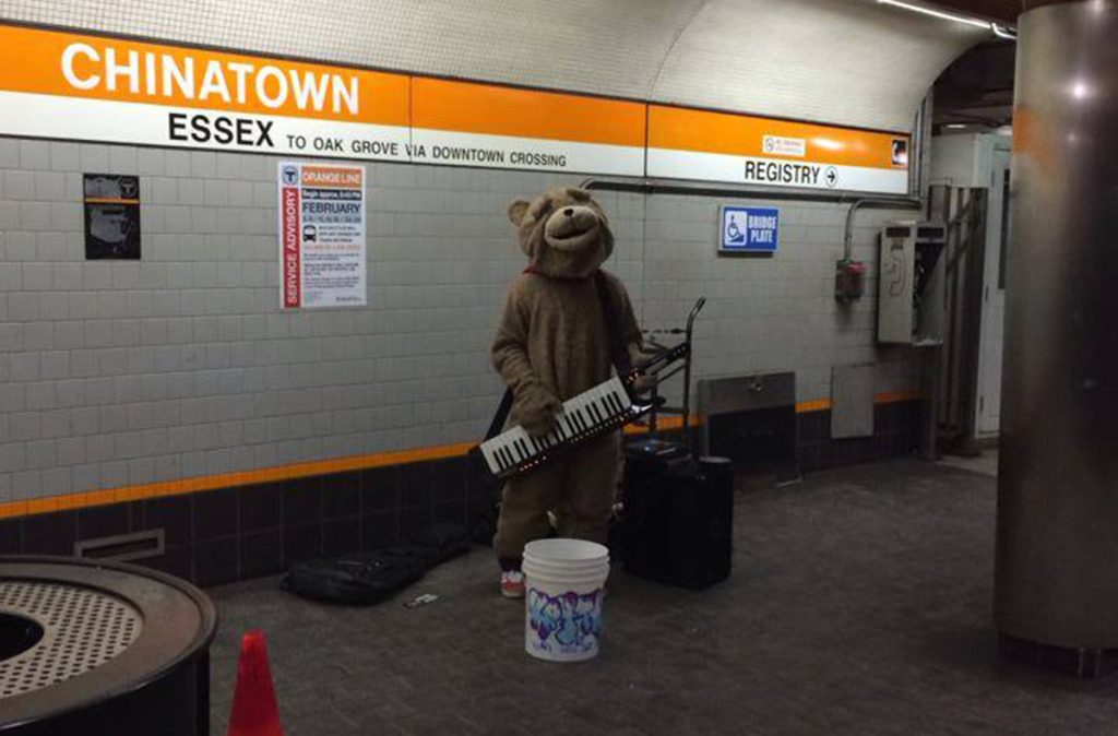Photo via We Love Keytar Bear