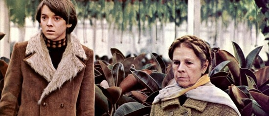 A still from Harold and Maude.