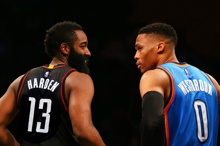 Jazz Hemingway There has been much buzz surrounding this year's NBA MVP race. There are technically four real candidates for the award this year, there are two superstars pictured above (Russell Westbrook and James Harden), as well as Kawhi Leonard and the ever relevant Lebron James. So, what exactly does being the NBA's most valuable player entail?