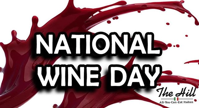 Head on over to our FB page for drink specials and giveaway details 🍷😍 #cheers #nationalwineday #italianbuffet #thehilldining #springfield #bestof417