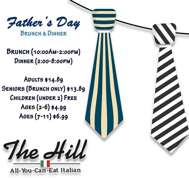 Treat those kings to an Italian feast this Father's Day #fathersday #springfieldmo #bestof417 #buffet #italian