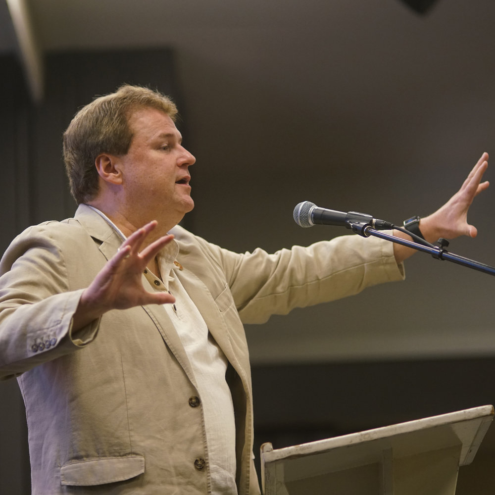 John Mark Reynolds delivering his Beauty talk