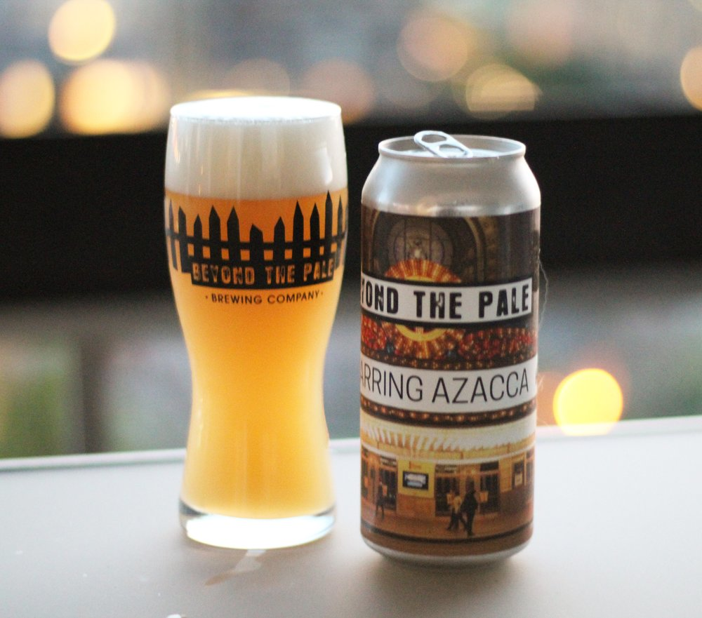 Beyond the Pale Brewing Co (Ottawa, ON) Starring Azacca from their single hop NEIPA series.