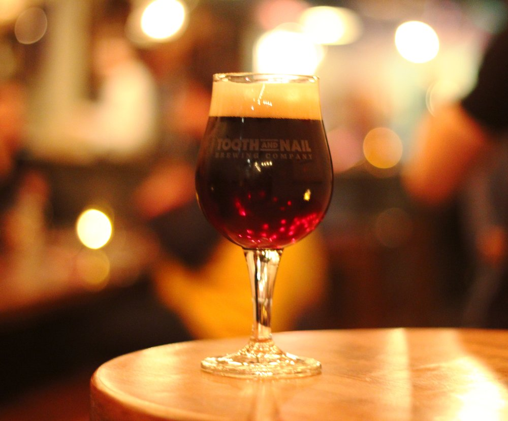 Tooth and Nail Brewing Co. Truce Holiday Winter Warmer 2018.