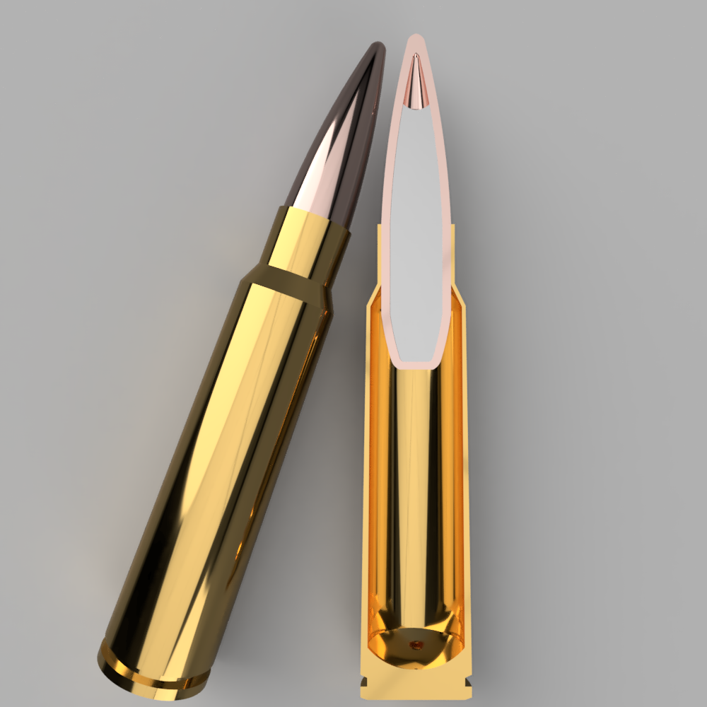 6mm Riggs - The 6mm Riggs cartridge is based on the ballistic performance of 5.45x39 scaled up for increased weight, power, and stability at longer ranges- a zero compromise round designed to offer the best combination of features for an intermediate carbine.