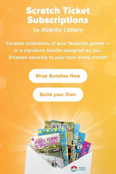 2. Our client Atlantic Lottery is beta testing a subscription scratch ticket program called  Winvelope .