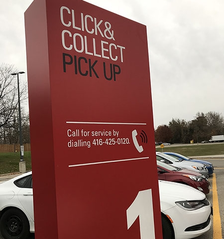 5. Loblaw's Click & Collect - done in 90 seconds.