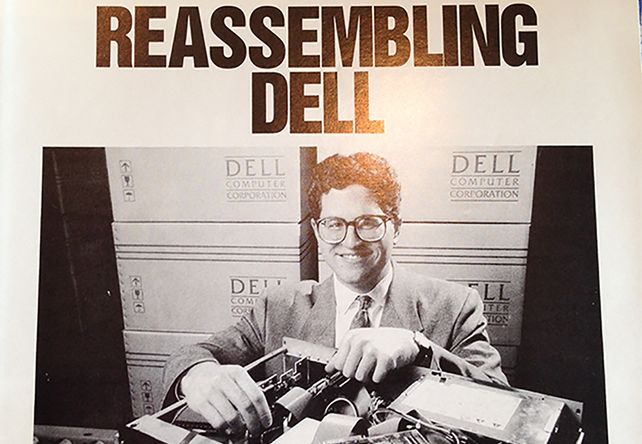 It's not the first time Dell's reinvented itself.
