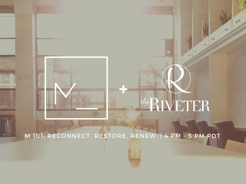M 101 Reconnect Restore Renew