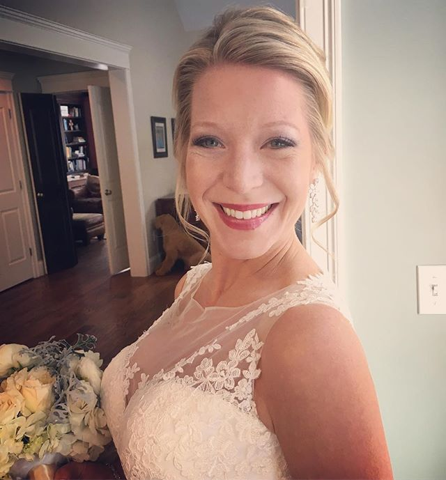 Makeup for a winter bride!