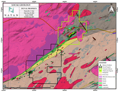 Enforcer Gold Duval Lithium Projekt Geologie