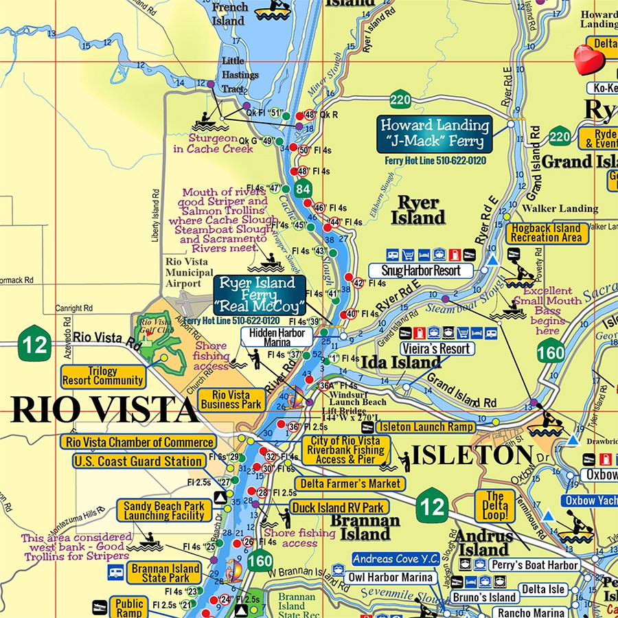 Rio Vista & Isleton, CA