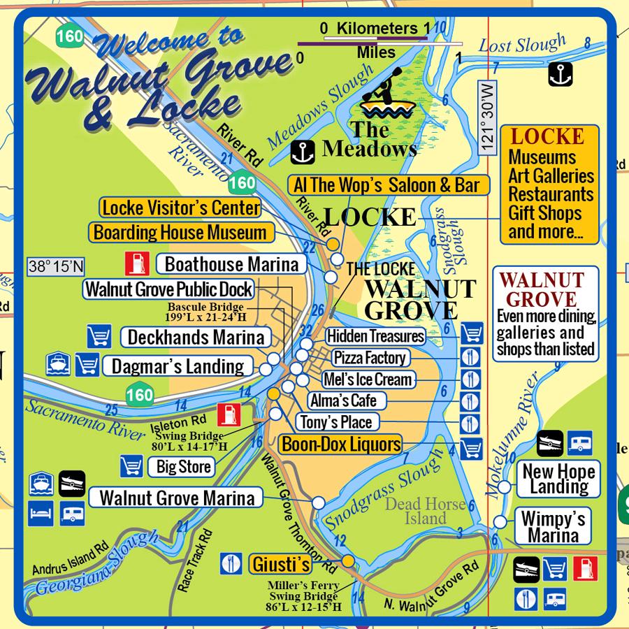 Walnut Grove & Locke, CA